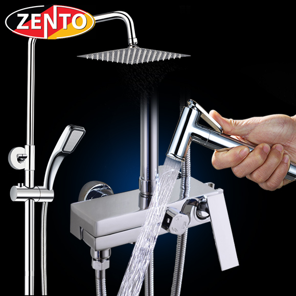 Bộ sen cây nóng lạnh 4in1 Zento ZT-ZS8053